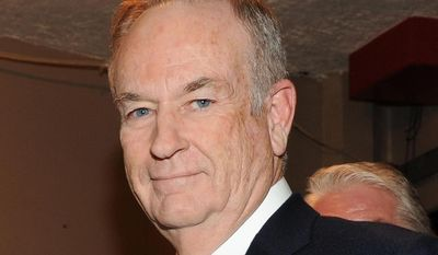 """** FILE ** This Oct. 13, 2012, file photo shows Fox News commentator and author Bill O'Reilly at the Comedy Central """"Night Of Too Many Stars: America Comes Together For Autism Programs"""" at the Beacon Theatre in New York. (Photo by Frank Micelotta/Invsion/AP, file)"""