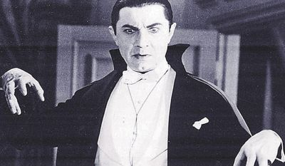 Bela Lugosi portrays the evil Count Dracula in the 1930 movie classic. (AP Photo)
