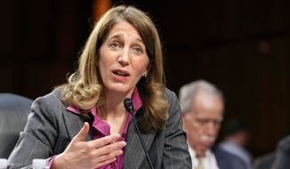 """""""As we plan for open enrollment in year two and continue to build a sustainable long-term system, we are committed to simplifying the experience for consumers by allowing auto-enrollment,"""" Health and Human Services Secretary Sylvia Mathews Burwell. """"We are working to streamline the process for consumers wishing to remain in their current plan.""""   (AP Photo/J. Scott Applewhite, File)"""