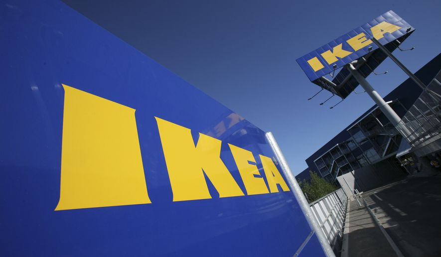Ikea announced its U.S. division is raising the minimum wage for thousands of its retail workers. (AP Photo/Mark Lennihan, File) ** FILE**