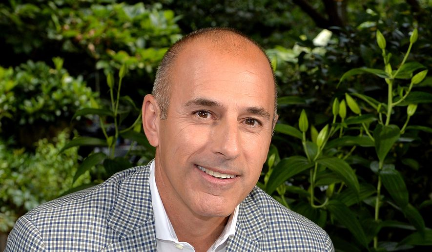 """This undated image released by NBC shows Matt Lauer, co-host of the """"Today"""" show in London. (AP Photo.NBC, Anthony Harvey) ** FILE **"""