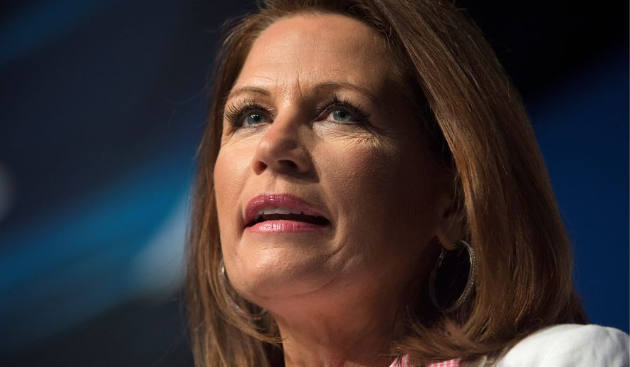 **FILE** Congresswoman Michele Bachmann, Minnesota Republican (Associated Press)