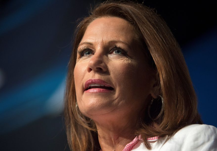 **FILE** Congresswoman Michele Bachmann, Minnesota Republican (Associated Press)