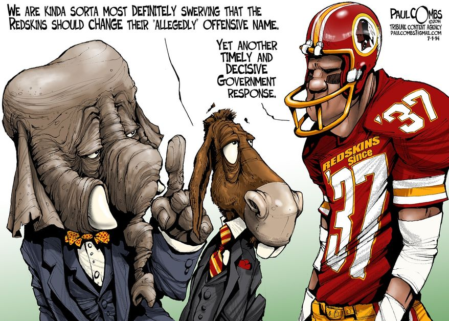 Illustration by Paul Combs of the Tribune Media Services