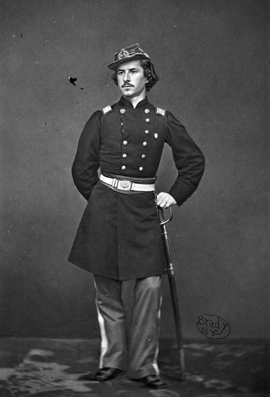 Mathew Brady is renown for taking photos of Union generals and soldiers, like this one of Col. Elmer Ellsworth. His exhibit will be on display through May 31. (National Portrait Gallery/Smithsonian Institution)