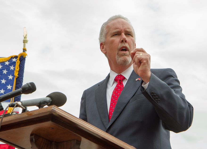 Tea party-backed State Rep. Joe Carr hopes to unseat incumbent U.S. Sen. Lamar Alexander, Tennessee Republican who is backed by the GOP establishment. Tea party groups are supporting a number of Senate and House races across the country, in including some Kansas and Georgia. (Associated Press)