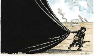 Illustration on Iraq chaos by De Angelis, Rome Italy/CartoonArts International