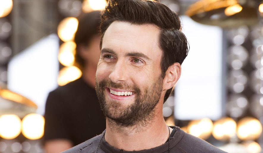 "In this June 14, 2013, file photo, Maroon 5 lead singer Adam Levine appears on NBC's ""Today"" show in New York. (Photo by Charles Sykes/Invision/AP) ** FILE **"