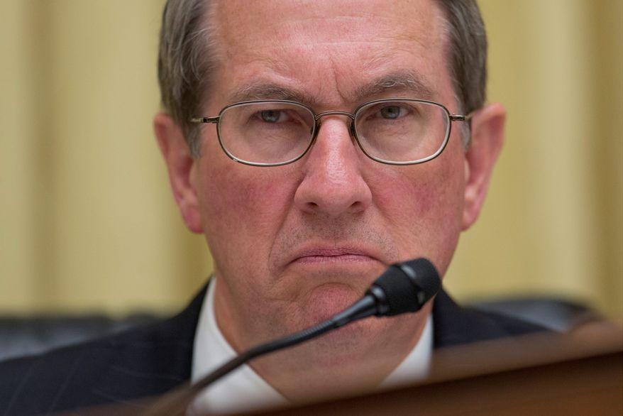 Virginia Rep. Robert W. Goodlatte, chairman of the House Judiciary Committee (Associated Press) **FILE**
