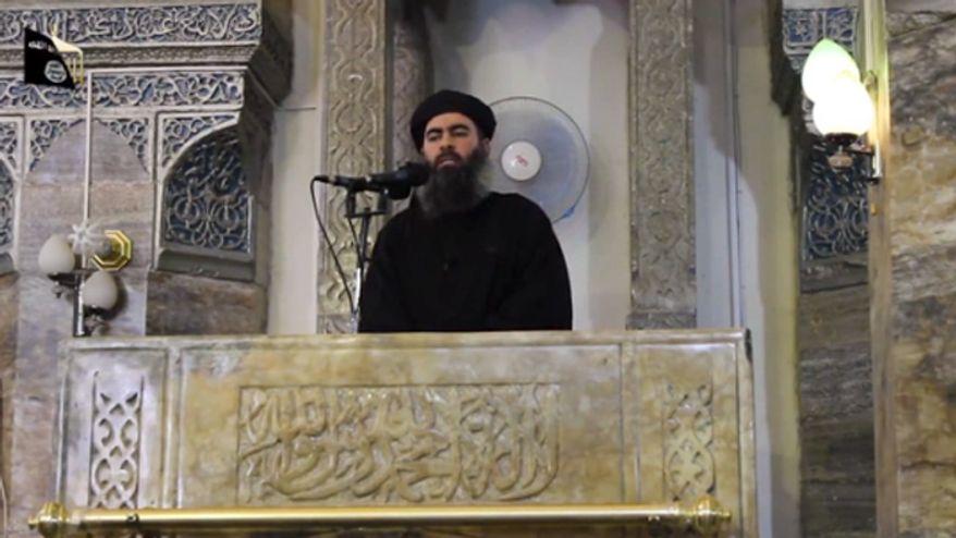 Abu Bakr al-Baghdadi (Image: ISIL video screen shot)