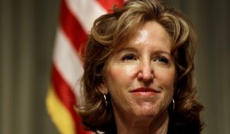 Democratic incumbent Sen. Kay Hagan will be watching closely the challenge to North Carolina's voter ID law. Opponents of the law contend that the identification requirement creates an obstacle for blacks, Hispanics and women to reach the ballot box. (Associated Press)