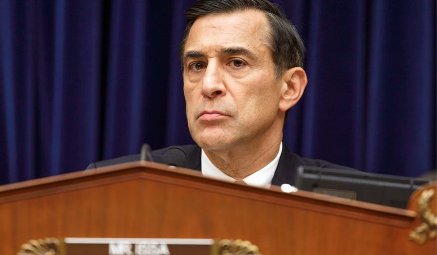 ** FILE ** Rep. Darrell Issa, California Republican. (AP Photo/J. Scott Applewhite)