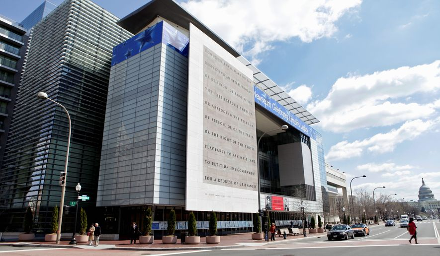 The Newseum is seen in Washington, Monday, March 30,, 20009.  (AP Photo/J.  Scott Applewhite)