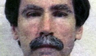 "FILE - This undated file image provided by the Department of Justice shows convicted serial rapist Christopher Hubbart. The ""Pillowcase Rapist,"" known by the moniker because he used a pillowcase to muffle his victims' screams, moved into his new home outside of Palmdale, about 70 miles northeast of downtown Los Angeles, earlier this week amid community protests. He's acknowledged raping or assaulting 40 women between 1971 and 1983. (AP Photo/Department of Justice, File)"