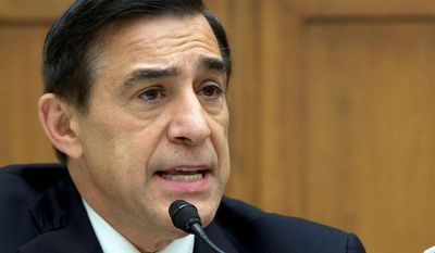 "Rep. Darrell Issa, California Republican, called the actions of U.S. Patent and Trademark Office official Deborah Cohn ""appalling and unbefitting a federal official"" when she used her influence to find a job for a relative's live-in boyfriend, and then threatened to sue when the government was about to make her case public. He has demanded that Commerce Secretary Penny Pritzker take ""immediate action"" to discipline Ms. Cohn. (Associated Press)"