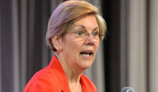 ** FILE ** Sen. Elizabeth Warren, D-Mass. (Associated Press)