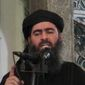 ** FILE ** Abu Bakr al-Baghdadi, leader of the al Qaeda splinter group the Islamic State, has rarely been photographed. (Associated Press)