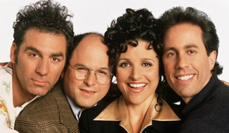 """Seinfeld"" creators were willing to push the envelope on topics like sponge-worthiness and remaining master of one's domain, but it turns out personal gun ownership was too controversial a topic for the iconic '90s show about nothing. (NBC Universal)"