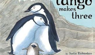 State-run libraries in Singapore are destroying all remaining copies of a gay-themed children's book that is based on the true story of two male penguins raising a baby chick at New York's Central Park Zoo. (Simon & Schuster)