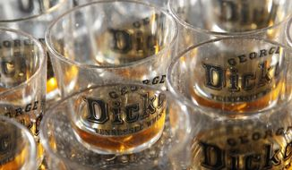 A recent study has found that gays and lesbians are more likely to abuse alcohol.  (AP Photo/George Dickel, Jeff Tuttle)