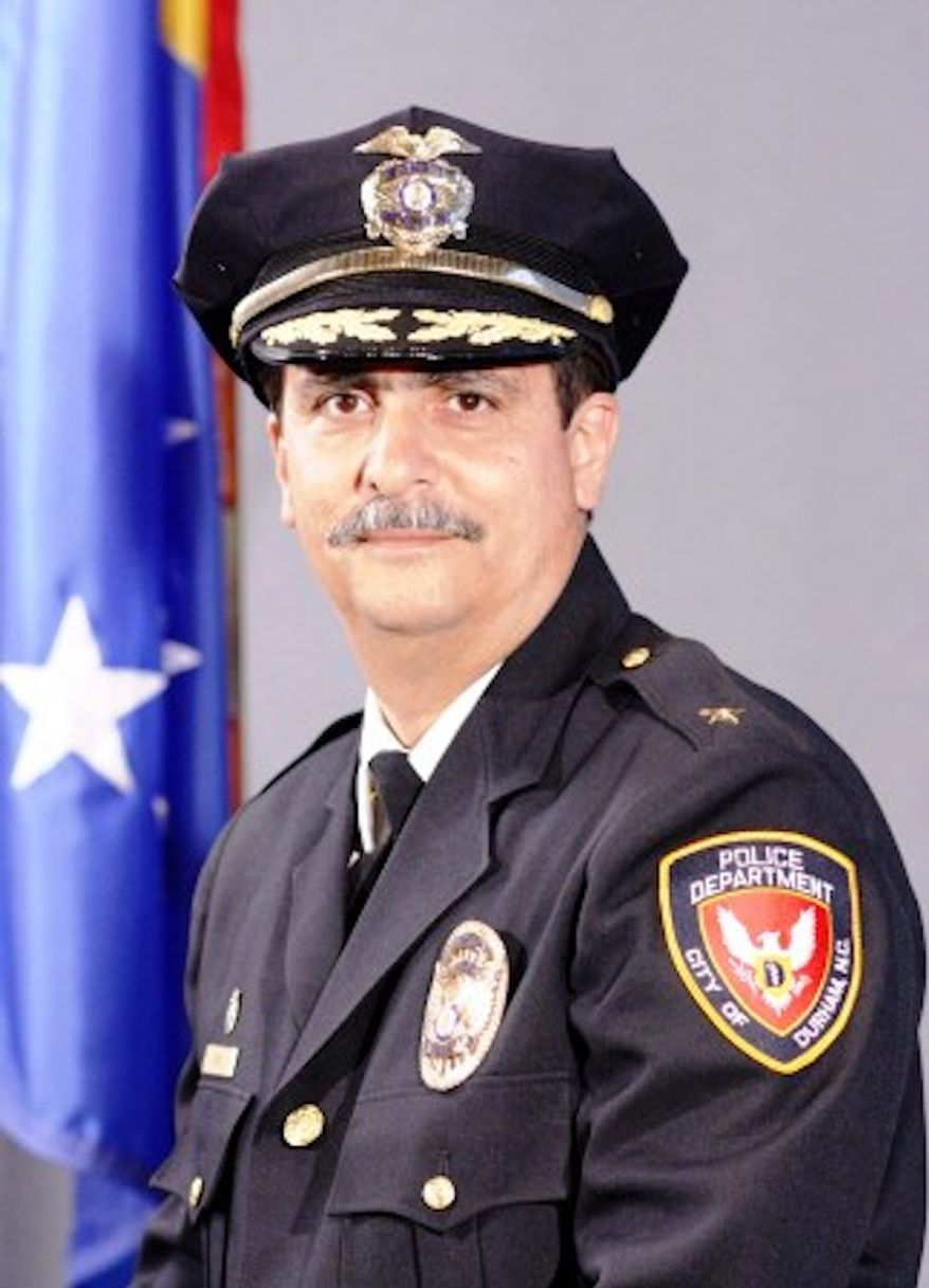 Durham Police Chief Jose Lopez has officially barred officers from making up phony 911 calls in order to gain access to private residences without a search warrant. (Durham Police Department)