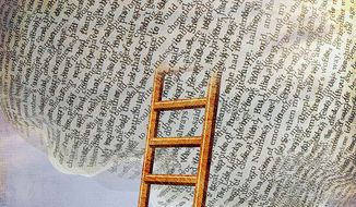 Reading Ladder Illustration by Greg Groesch/The Washington Times