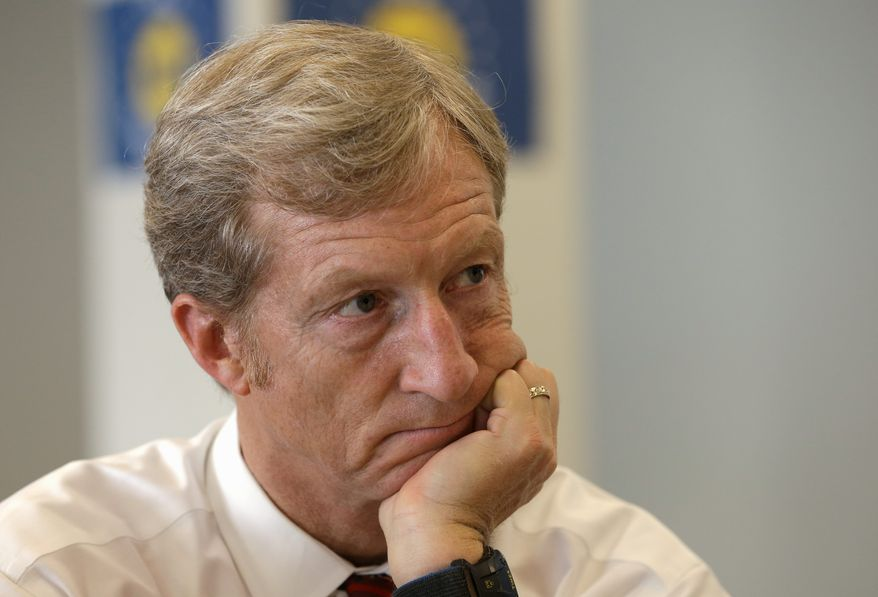 Tom Steyer, a former hedge fund manager who helped wealthy clients dodge taxes. (Associated Press)