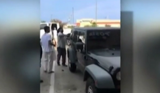 A group of Houston-area shoppers took matters into their own hands Monday afternoon when they noticed two kids screaming for help inside a parked car in 90-degree weather. (KHOU 11)