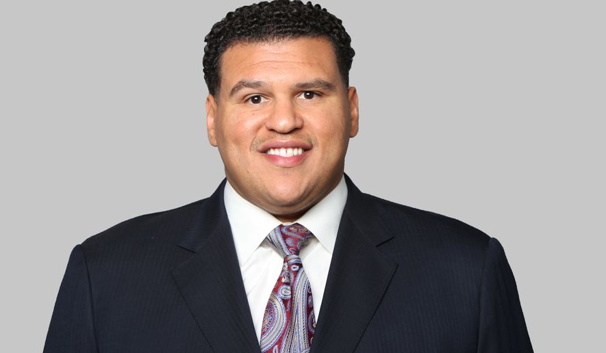 This is a 2014 photo of Alex Santos of the Washington Redskins NFL football team. This image reflects the Washington Redskins active roster as of Monday, June 16, 2014 when this image was taken. (AP Photo)