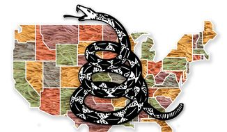 Tea Party Illustration by Greg Groesch/The Washington Times
