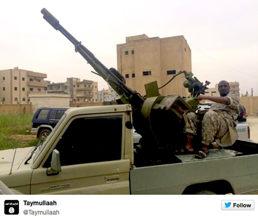 Image: Twitter, Islamic State of Syria and the Levant