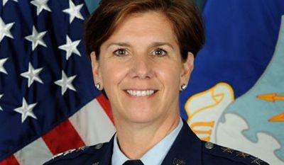 Air Force Lt. Gen. Lori J. Robinson