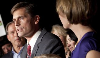 **FILE** Sen. Martin Heinrich, New Mexico Democrat (Associated Press)