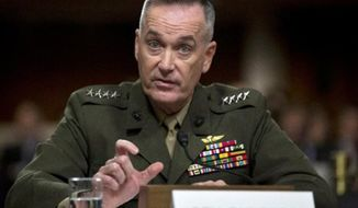 ** FILE ** Marine Gen. Joseph Dunford (Associated Press)