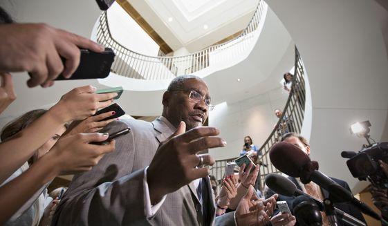 Rep. Gregory W. Meeks, New York Democrat. (Associated Press) ** FILE **