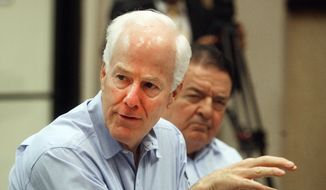 Sen. John Cornyn, R-Texas. (AP Photo/The Monitor, Joel Martinez) ** FILE **