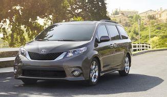 The 2014 Toyota Sienna. (Toyota)