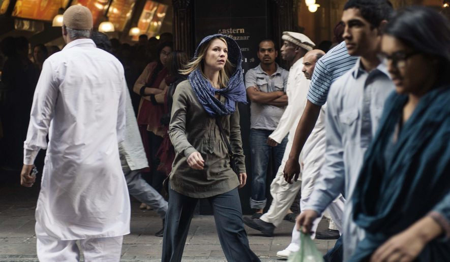"""This photo released by Showtime shows Claire Danes as Carrie Mathison in """"Homeland,"""" Season 4, filmed in South Africa. (AP Photo/Showtime, Joe Alblas) ** FILE **"""