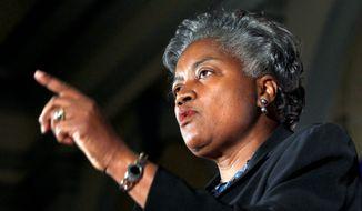 Democratic strategist Donna Brazile (Associated Press) **FILE**