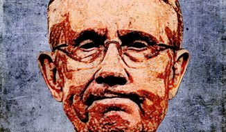 Harry Reid Photo-Illustration by Greg Groesch/The Washington Times