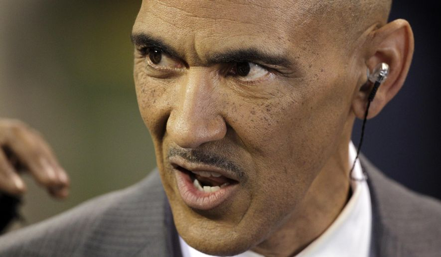 Former NFL Coach Tony Dungy is a member of the Fellowship of Christian Athletes Hall of Champions. (AP Photo/David Duprey)