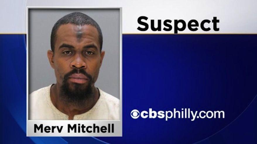 Suspect Mabul Shoatz aka Merv Mitchell (Philadelphia Police Department/CBS Philly)