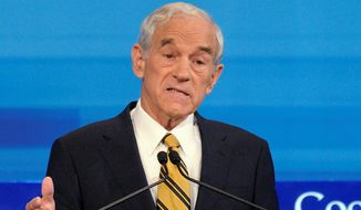 "Former Rep. Ron Paul describes his new voicesofliberty.com website as a ""digital bully pulpit"" for early stage political ideas. (Associated Press) ** FILE **"
