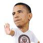 Illustration on adolescent Obama by Alexander Hunter/The Washington Times