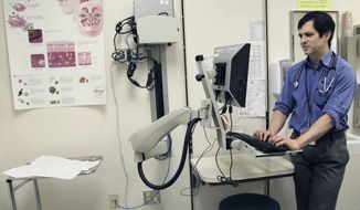 Health care providers need incentives to become more transparent and consumers should know the costs of procedures before they undergo them, the Health and Human Services secretary said. (Associated Press/File)
