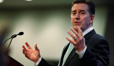 Jim DeMint, president of the Heritage Foundation, said data from a recent report showing unwed motherhood and single-parent households on the rise, indicate America is on the wrong track. (Associated Press)