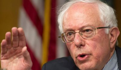 Veterans Affairs Committee Chairman Sen. Bernie Sanders, Vermont independent, has his own bill, but it would make broader changes such as expanded access to alternative medicine and changes to GI Bill benefits. (Associated Press)
