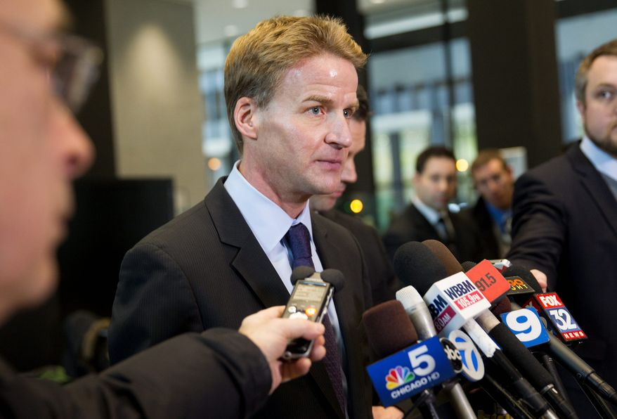 """U.S. Attorney Zachary Fardon declared in his first interview after taking over his job that """"we are not going to arrest our way out of the gang problem in Chicago ... I do not believe federal law enforcement is the panacea"""" to gun violence."""