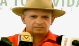 Hugo Carvajal is Venezuela's former head of military intelligence. (Image: YouTube)
