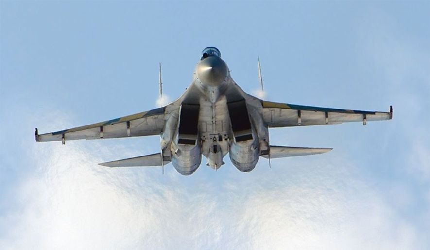 A Russian-made Sukhoi Su-35S (Wikimedia Commons) **FILE**